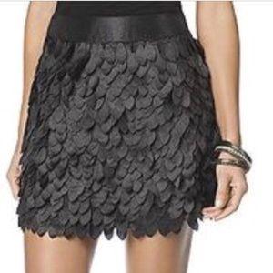 Kardashian Kollection Petal Mini Skirt NWT